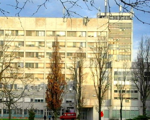 1 Zgrada za hirurske oblasti KC Kragujevac